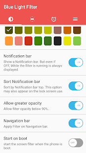 sFilter - Free Blue Light Filter Screenshot