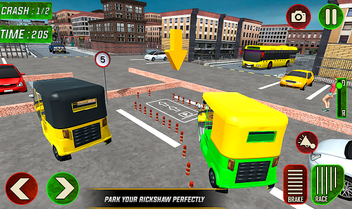 Tuk Tuk Auto Rickshaw Driver 2019:City Parking 1.5 screenshots 9