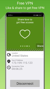Free VPN Proxy by Seed4.Me Screenshot