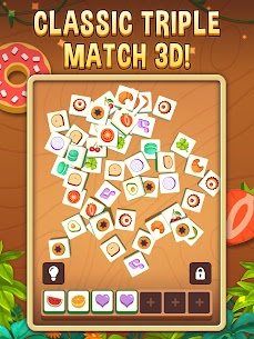 Tile Triple 3D – Match Master & Puzzle Brain Game Apk Mod + OBB/Data for Android. 4