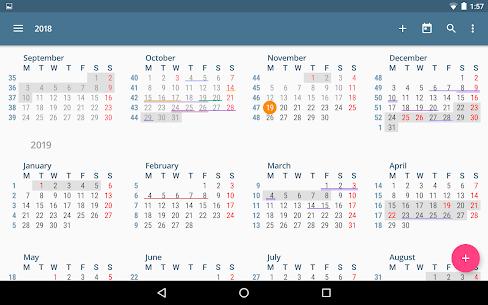 aCalendar – a calendar app for Android (MOD, Premium) v2.5.2 13