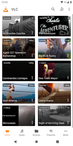 VLC for Android 3.3.4 screenshots 1