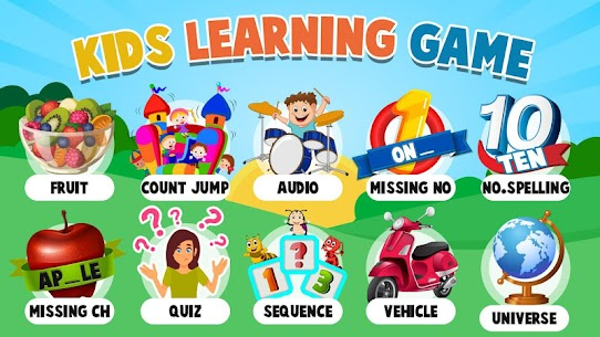 Kids Learning Games  For Pc – Download For Windows 10, 8, 7, Mac 2