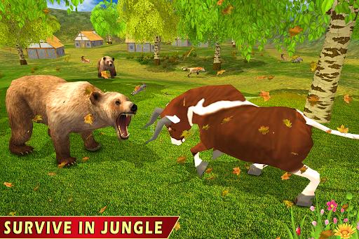Wild Bull Family Survival Sim apkpoly screenshots 5
