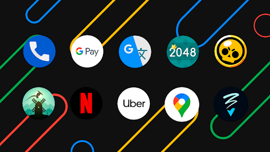 Pixel pie icon pack - free icon pack Screenshot