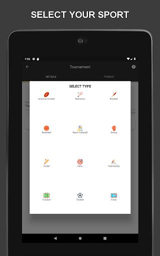 Winner - Tournament Maker App, League Manager 9.9.2 Screenshots 1