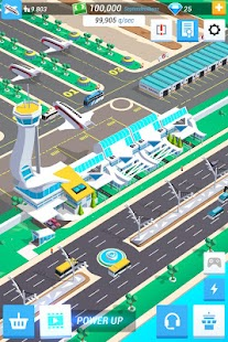 Idle Airport Tycoon - Tourism Empire Screenshot