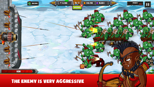 Castle Defense: Monster Defender apktreat screenshots 1