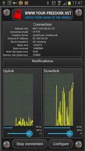 Your Freedom VPN Client 20210618-01 Screenshots 2