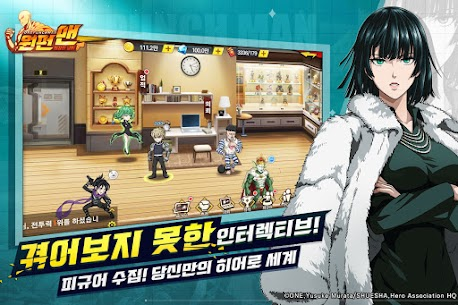 원펀맨: 최강의 남자 (MOD, Unlimited Money) For Android 5
