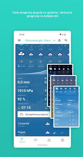 Meteo IMGW Prognoza dla Polski  Screenshots 2