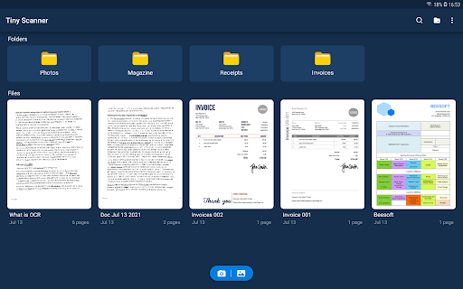 Tiny Scanner - PDF Scanner App android2mod screenshots 14