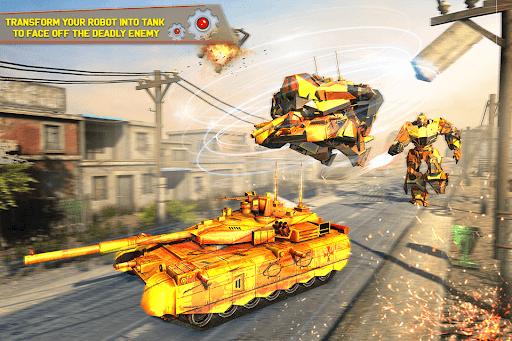 Tank Robot Car Games - Multi Robot Transformation screenshots 6