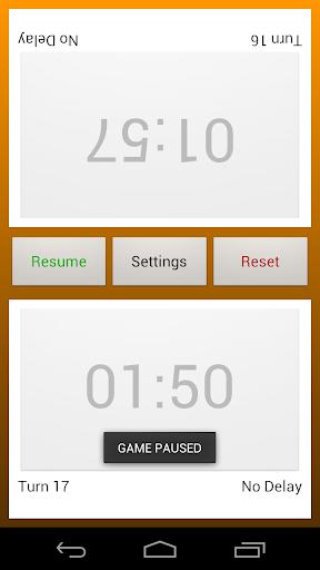 chess clock screenshot 3