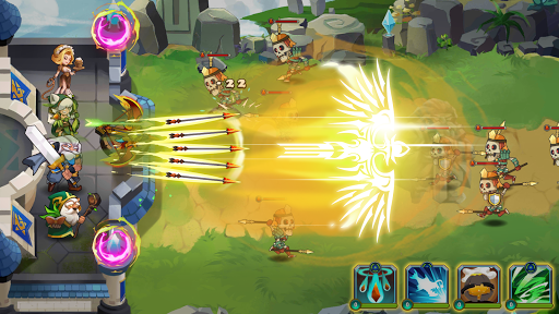 Castle Defender Premium: Hero Idle Defense TD 1.8.1 screenshots 4