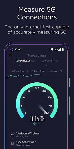 Speedtest by Ookla 4.5.32 screenshots 3