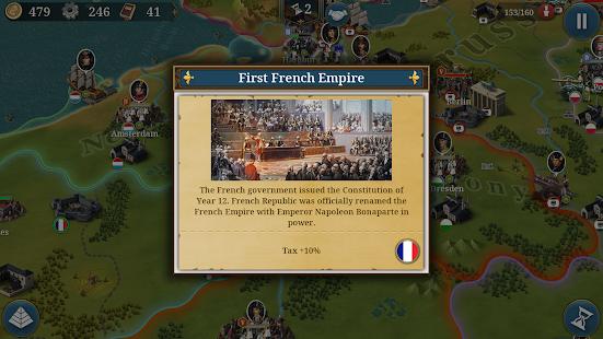European War 6: 1804 - Napoleon Strategy Game 1.2.28 Screenshots 12