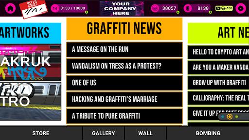 VANDALEAK - Sprays and Graffiti on the go 1.41 screenshots 8