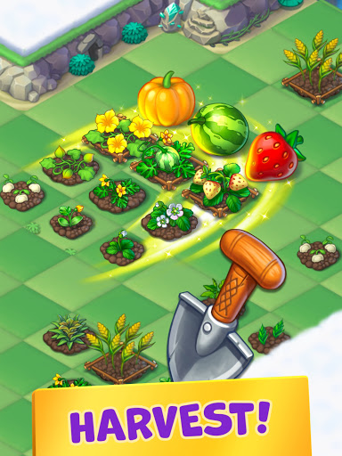 Mergest Kingdom: Merge Puzzle apkpoly screenshots 9