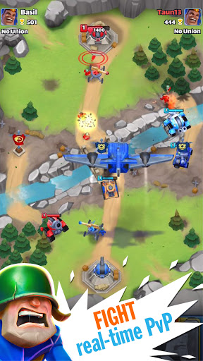 Warhands: Epic clash in chaos league・PvP Real time  screenshots 1