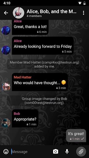 Delta Chat 1.14.4 Screenshots 2