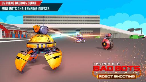 US Police Robot Shooting Crime City Game 2.9 screenshots 5
