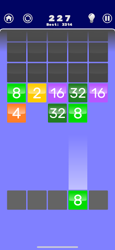 Number Merge 2048 - 2048 hexa puzzle Number Games 7.9.12 screenshots 8