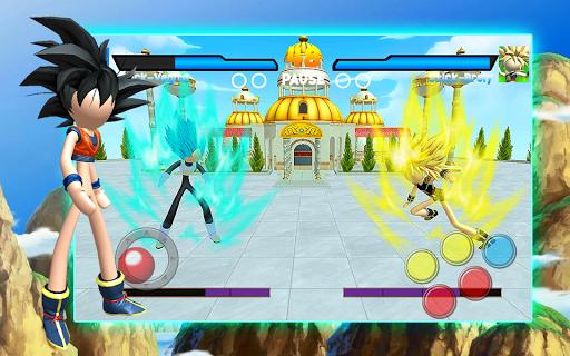 Stick Super Battle War Warrior Dragon Shadow Fight 8.0 screenshots 1