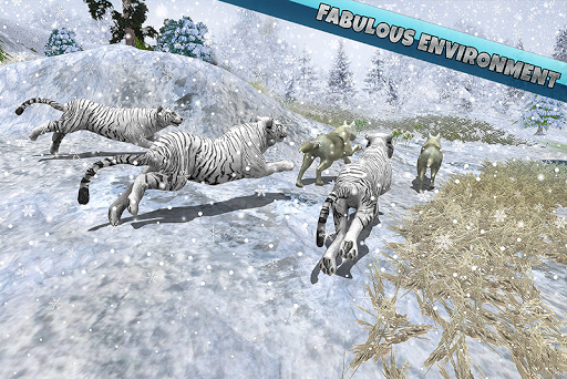 Arctic Wolf Family Simulator: Wildlife Animal Game 2.2 screenshots 4