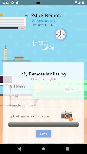 Foto do Remote Control For Amazon Fire Stick FireTV TV-Box