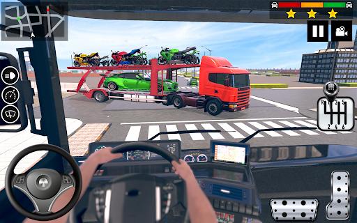 Car Transporter Truck Simulator-Carrier Truck Game screenshots 3