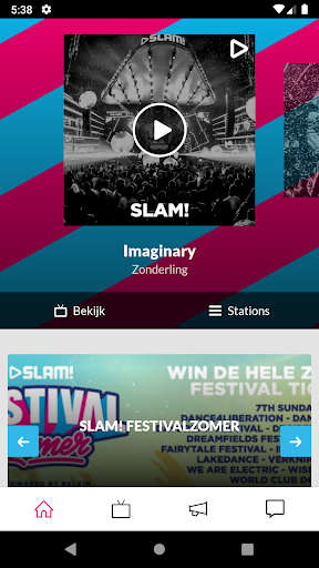 slam! screenshot 1