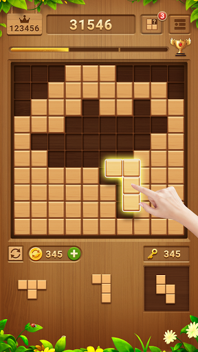 Wood Block Puzzle - Free Classic Block Puzzle Game 2.1.0 screenshots 1