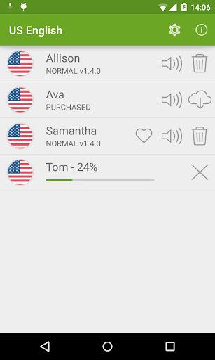 Vocalizer TTS Voice (English) 3.4.3 Screenshots 3
