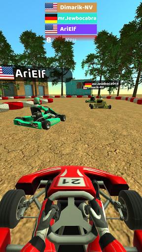 Code Triche Kart Rush 3D (Astuce) APK MOD screenshots 4