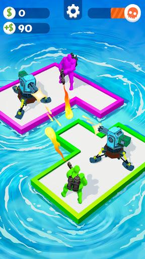 War of Rafts: Crazy Sea Battle  screenshots 3