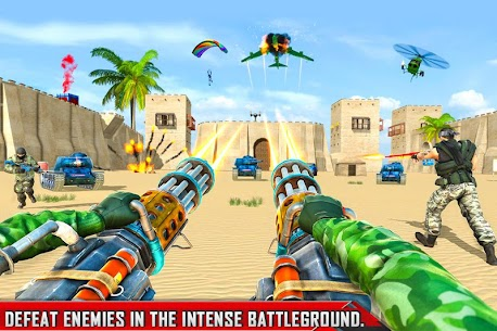 FPS Commando Shooting Mission: New Shooting Games 3
