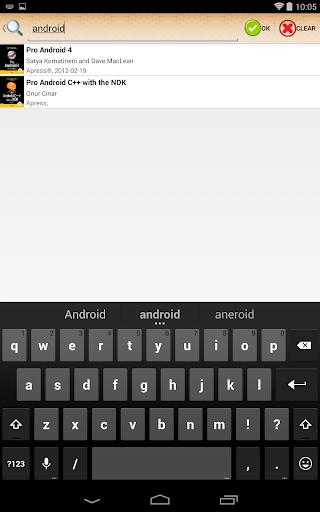 ePub Reader for Android 2.1.2 Screenshots 5