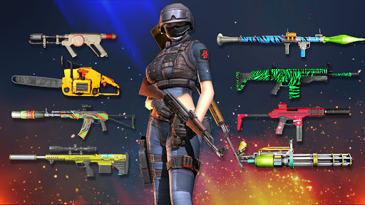 Modern Forces Free Fire Shooting New Games 2021 1.53 screenshots 14