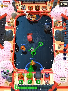 Rumble Stars Fussball Screenshot