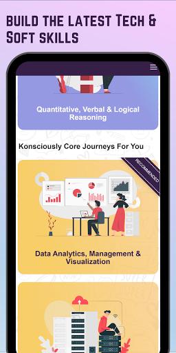 Konsciously: Data, Dev, Tech, Communication Skills  screenshots 2