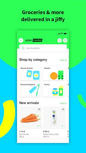 mjam u2013 Delivery Service for food, groceries & more apktram screenshots 3