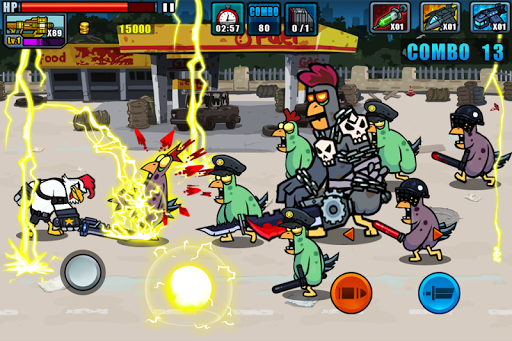 Chicken Warrior:Zombie Hunter ss2
