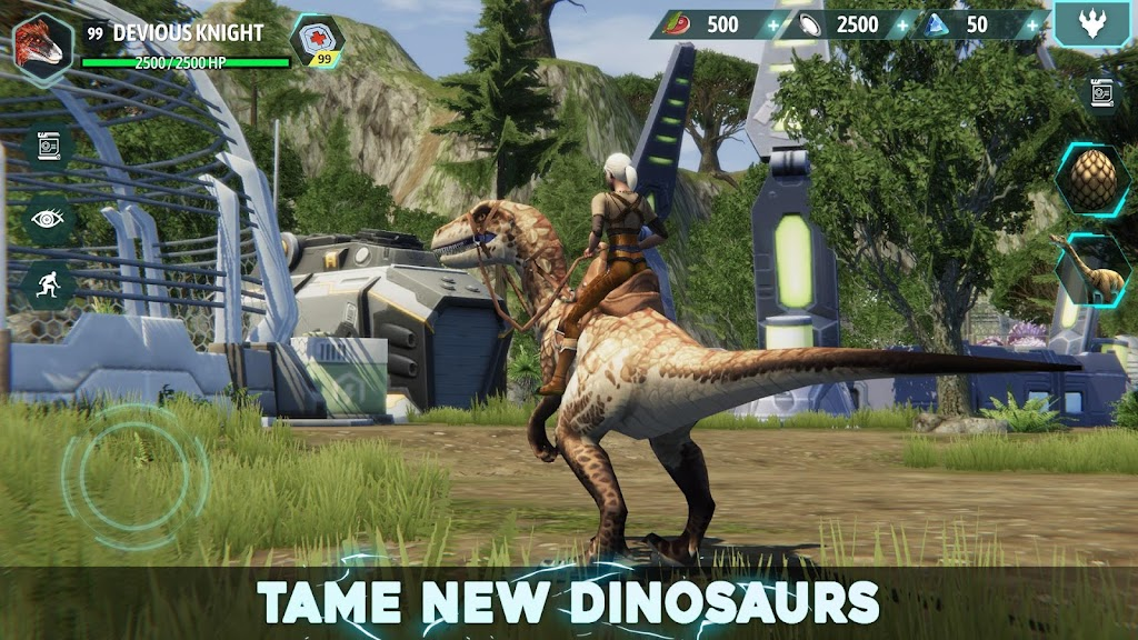 Dino Tamers - Jurassic Riding MMO  poster 0