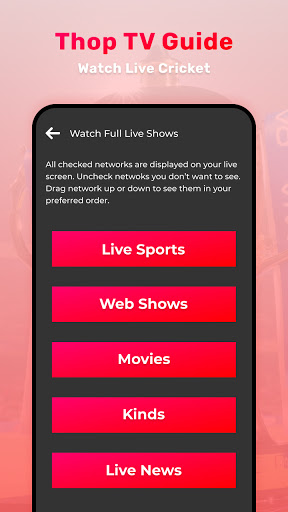 Thop TV : Free Thoptv Live IPL Cricket Guide 2021 screen 1