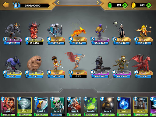 Castle Crush: Epic Battle - Free Strategy Games Apkfinish screenshots 23