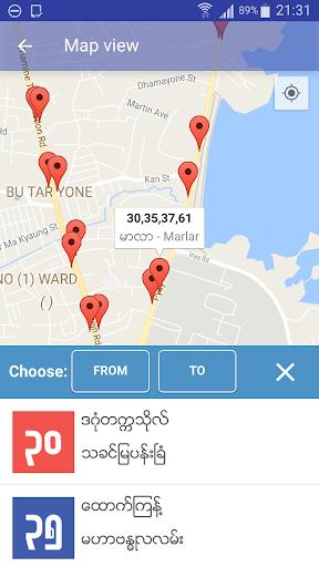 Yangon Bus (YBus) 2.1.1 Screenshots 4