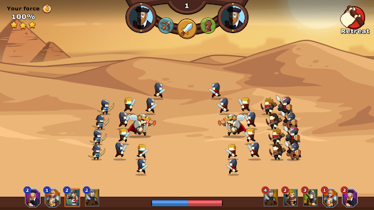 Knights and Glory – Tactical Battle Simulator Mod Apk (Auto Win) 7