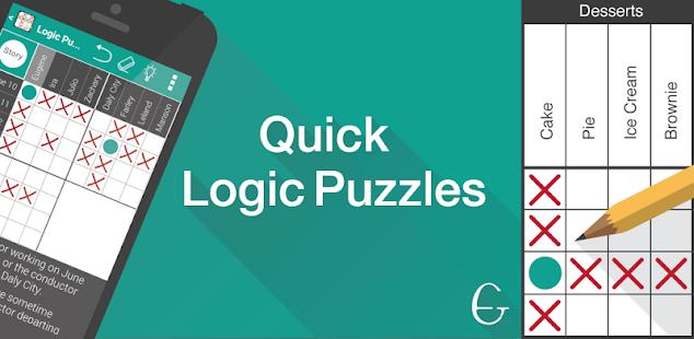 quick logic puzzles hack