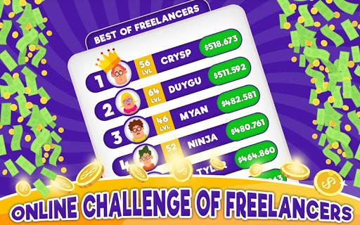 Freelancer Simulator Inc : Game Dev Money Clicker 1.72 screenshots 7